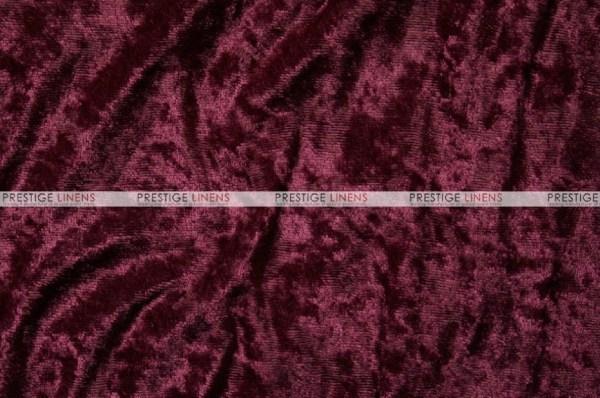 Panne Velvet - Fabric Yard Burgundy Prestige Linens