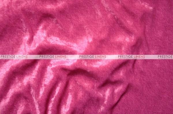 Panne Velvet - Fabric Yard Fuchsia Prestige Linens
