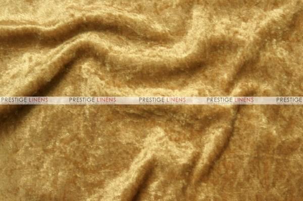 Panne Velvet - Fabric Yard Gold Prestige Linens