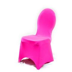 Scuba Chair Covers Wholesale Kitchen Target Spandex Banquet Cover - Fuchsia Prestige Linens