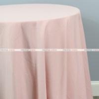 Scuba Stretch Table Linen - Blush - Prestige Linens