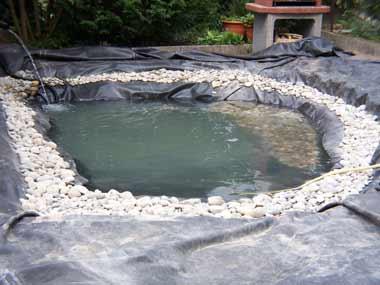 Construction d 39 un tang de jardin et les conseils savoir - Construction etang de jardin ...