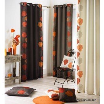 accrochage des panneaux double face pour les rideaux. Black Bedroom Furniture Sets. Home Design Ideas