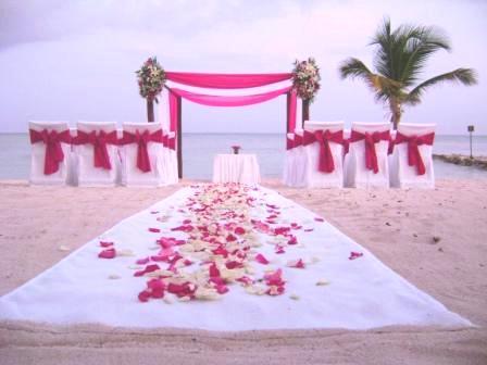 id es de d coration de mariage sur plage. Black Bedroom Furniture Sets. Home Design Ideas