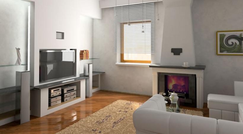 comment am nager un coin t l vision dans le s jour. Black Bedroom Furniture Sets. Home Design Ideas