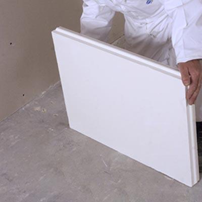 ma onner des cloisons en carreaux de pl tre. Black Bedroom Furniture Sets. Home Design Ideas