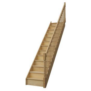 Comment poser un escalier droit - Comment mesurer un escalier ...