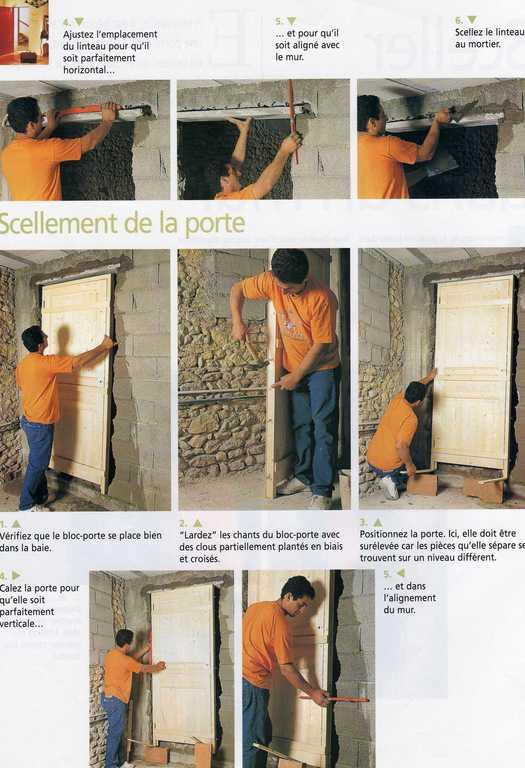 Comment cr er les ouvertures dans un mur - Creer une porte dans un mur porteur ...