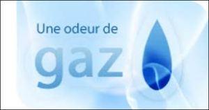 odeur de gaz