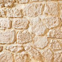 Mur en pierres de parement
