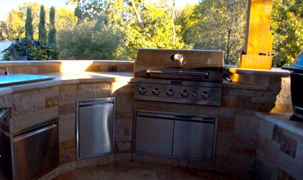 Outdoor Kitchen Frisco Tx Prestige Pool And Patio