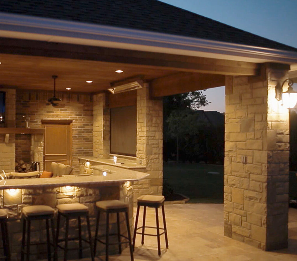 Backyard Living Frisco TX  Prestige Pool and Patio