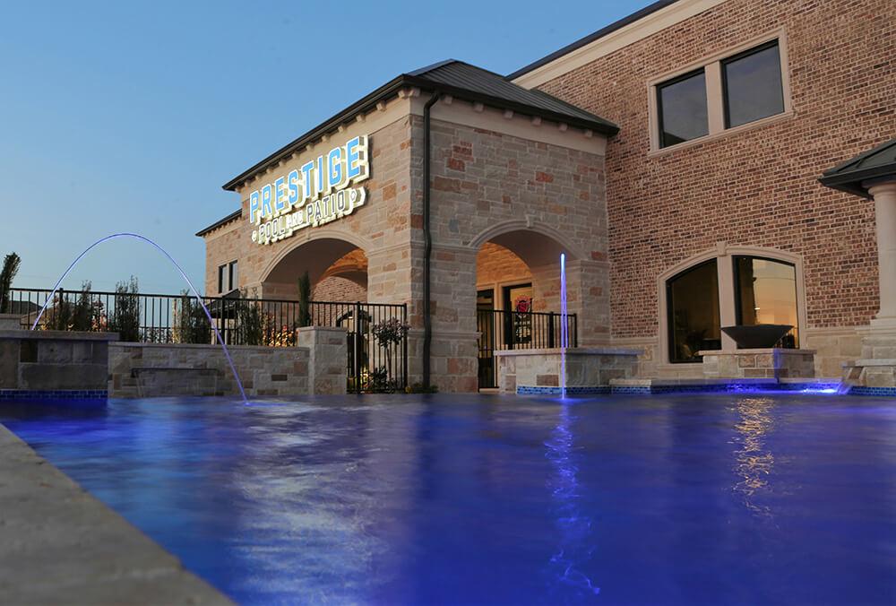 swimming pool building mckinney tx