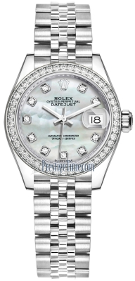 279384RBR MOP Diamond Jubilee Rolex Lady Datejust 28mm