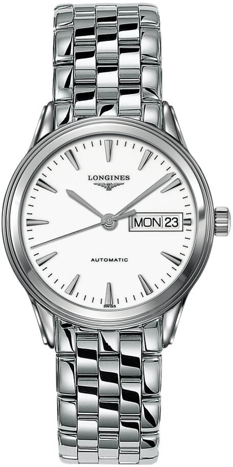 L4.799.4.12.6 Longines Flagship Automatic Day Date Mens Watch