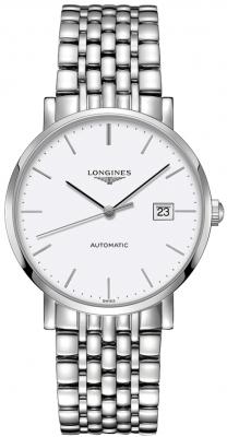 L4.910.4.12.6 Longines Elegant Automatic 39mm Mens Watch