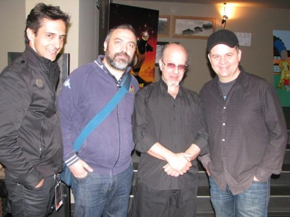 Luis de Matos, Max Maven e Topas.