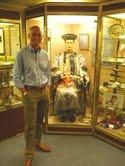 Pietro Micheli ed il costume di Chung Ling Soo. Eurocol 4, Londra 2011, museo del Magic Circle.