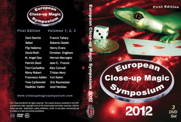 Close-up Symposium 2012 3 DVD
