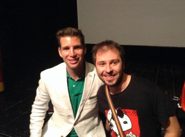Joshua Jay e Alberto Bassino