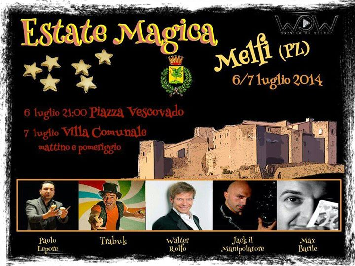 estate magica melfi 2014
