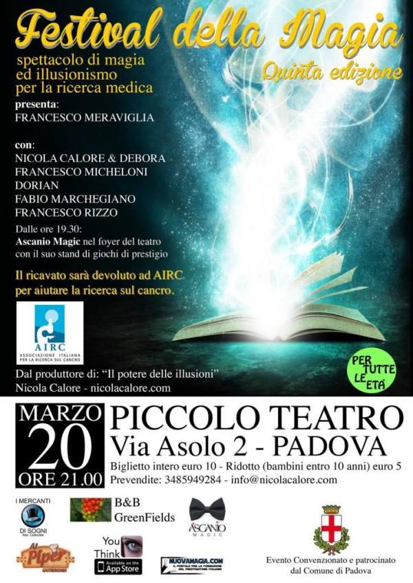 festival magia padova 2015