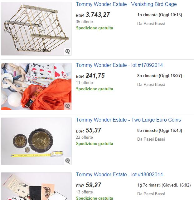 tommy wonder ebay