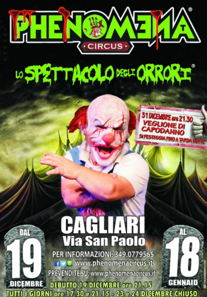 Phenomena Circus Cagliari