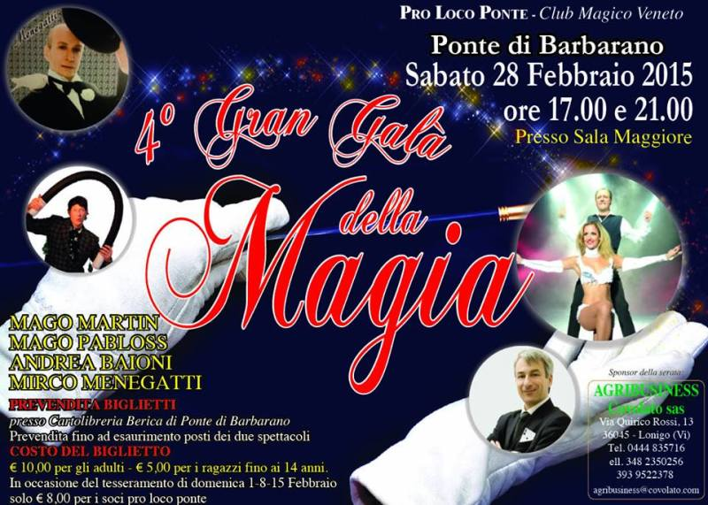 gaòa magia 2015 veneto