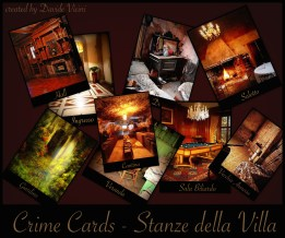 Crime Cards stanze color
