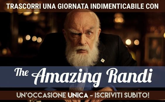 James Randi 2015 milano torino