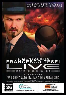 Francesco Tesei Il Mentalista Live