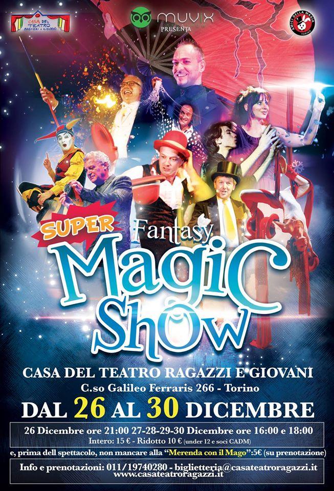 super fantasy magic show torino 2015 cadm