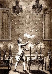 Celebre immagine di Giuseppe Pinetti