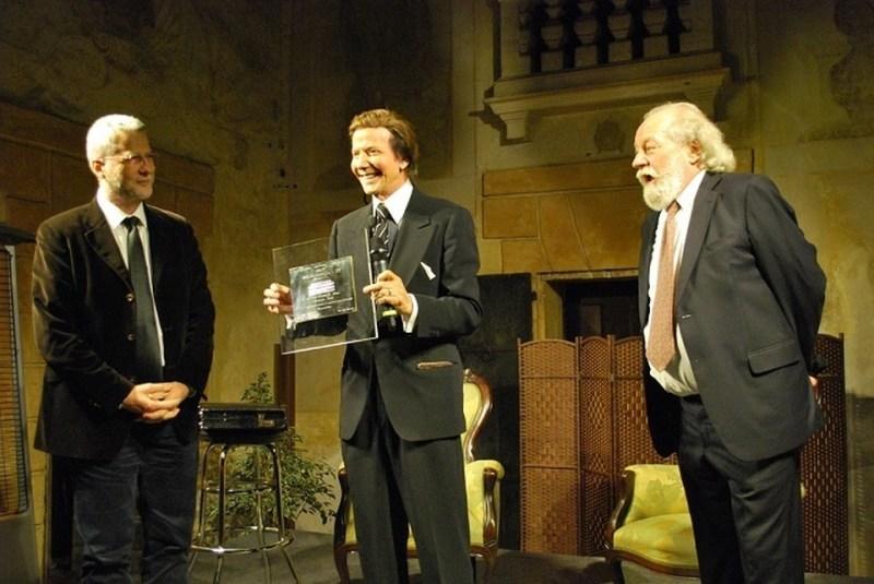 Il mago Silvan ha vinto il premio Basilica Palladiana di Sandrigo