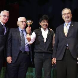 Andrea Baioni, Gianni Loria, Dhaya, Domenico Dante, abano terme 2018