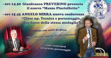 23/2/2019, Vigonza (Pd), Conferenze Preverino e Angelo Mirra