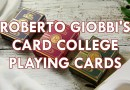 Roberto Giobbi's Card College Playing Cards [PREVIEW]
