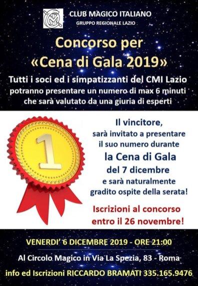 2019, Roma, Cena di Gala con Francesco Scimemi (2)