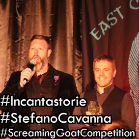 Stefano Cavanna L'Incantastorie vince il primo premio alla Screaming Goat Competition 2020 instagram