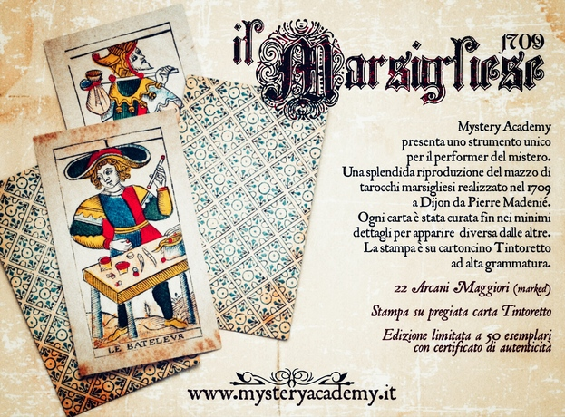 Crowfunding in corso: Mazzo di tarocchi IL MARSIGLIESE 1709 matteo filippini