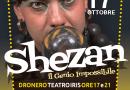 17-18/10/2020, Dronero (Cn), Shezan – Spettacolo e Workshop