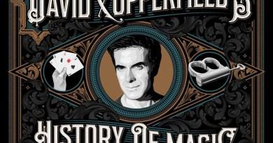 """In uscita il libro """"David Copperfield's History of Magic"""""""