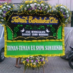 Jual Karangan Bunga Duka Cita, Kel. Batu Sari Kota Tangerang
