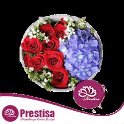 Bunga Papan Happy Wedding Murah di Bogor