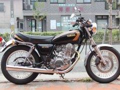 SR400 ヤマハ50TH 限定モデル
