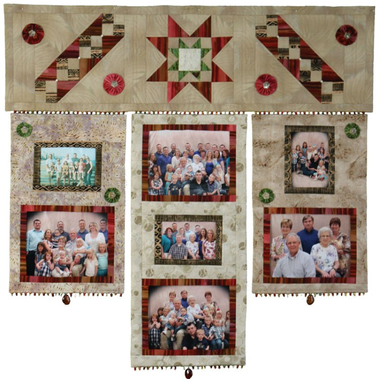 """The Family Quilt Too - 42"""" X 40"""" - Download"""