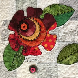 Embellishing a Quilt