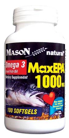 Maxepa 1000 mg Omega 3 From Fish Oil Dietary Supplement ...