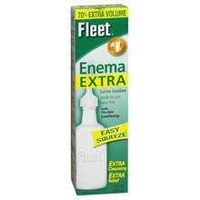Fleet Saline Laxative Enema Extra 7.8 Oz